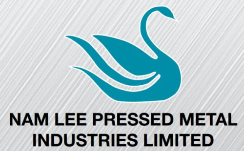 Nam Lee Pressed Metal Logo