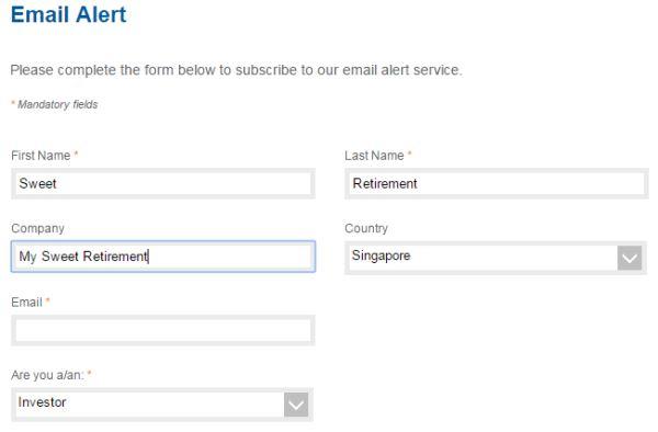 Email Alert