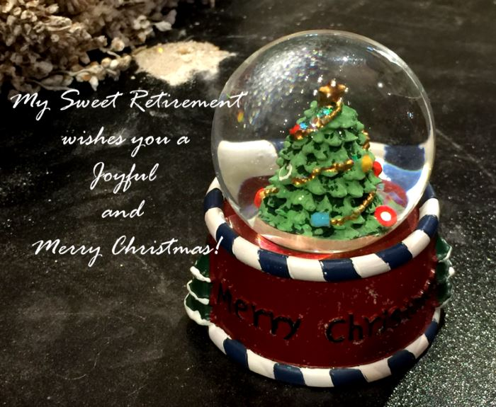 My Sweet Retirement Wishes You a Joyful and Merry Christmas!