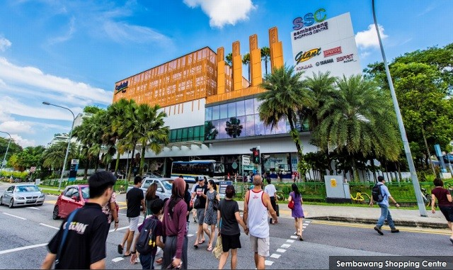 CapitaLand Mall Trust 1Q2018 Financial Results and Divestment of Sembawang Shopping Mall