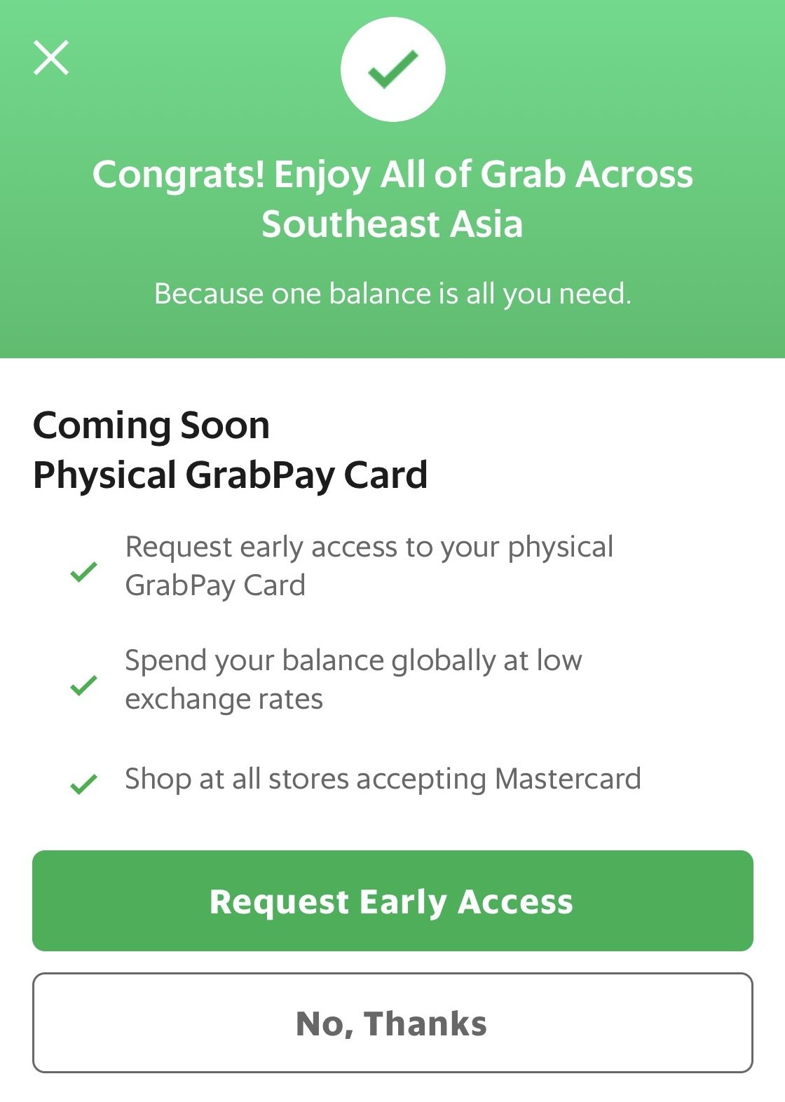 My Sweet Retirement Gets Early Access to GrabPay Mastercard