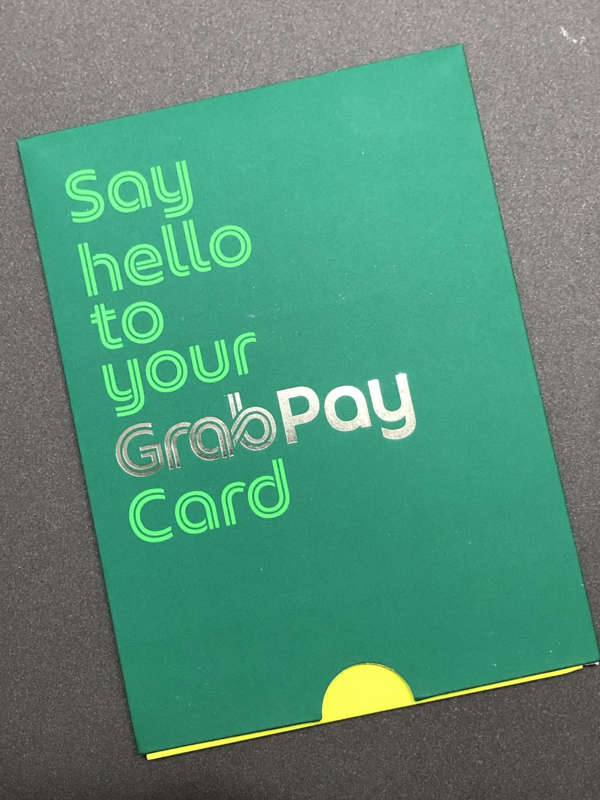 My Sweet Retirement Receives GrabPay Physical Mastercard