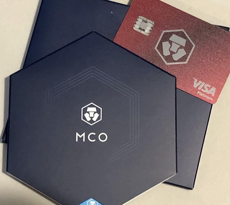 MCO Ruby Steel Visa Card