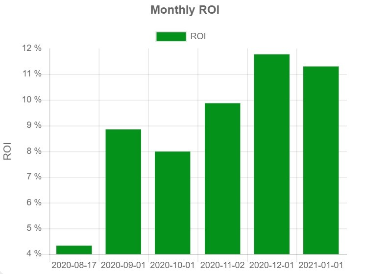 Forex ROI January 2021