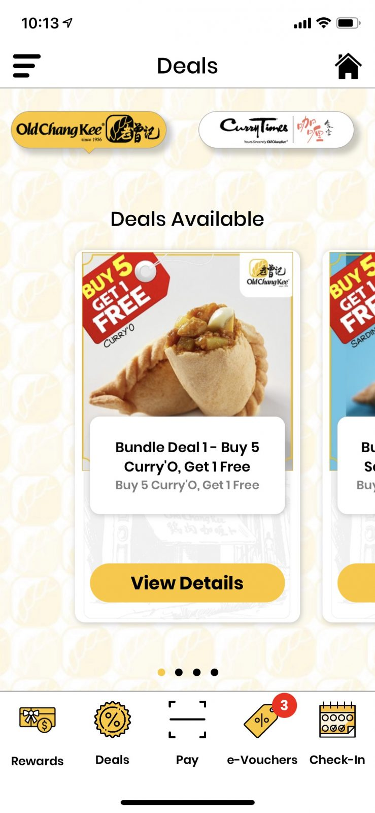 Old Chang Kee Deals